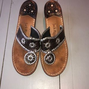 Jack Rogers heeled sandal
